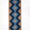 marokkansk-berber-taepper-haendlavet-i-bedste-uld-kvalitet-i-plantefarver-indigo-blaa-lysblaa-og-lysbrun-designet-af-henriette-w-leth