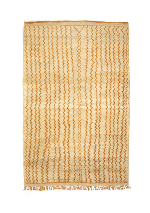 marokkansk-berber-taepper-haendlavet-i-bedste-uld-kvalitet-i-plantefarver-orange-beige-og-raehvid
