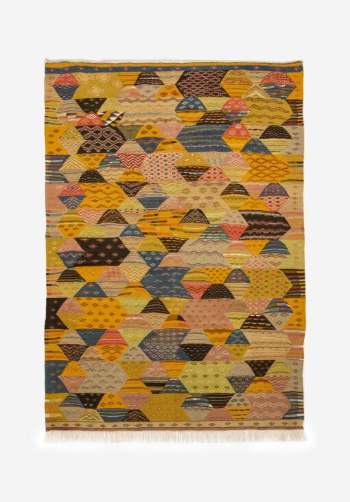 marokkansk-berber-taepper-haendlavet-i-uld-kvalitet-i-multifarvet